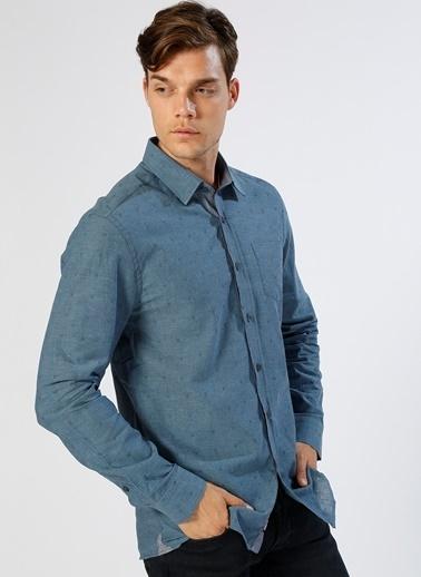 Limon Company Uzun Kollu Gömlek İndigo